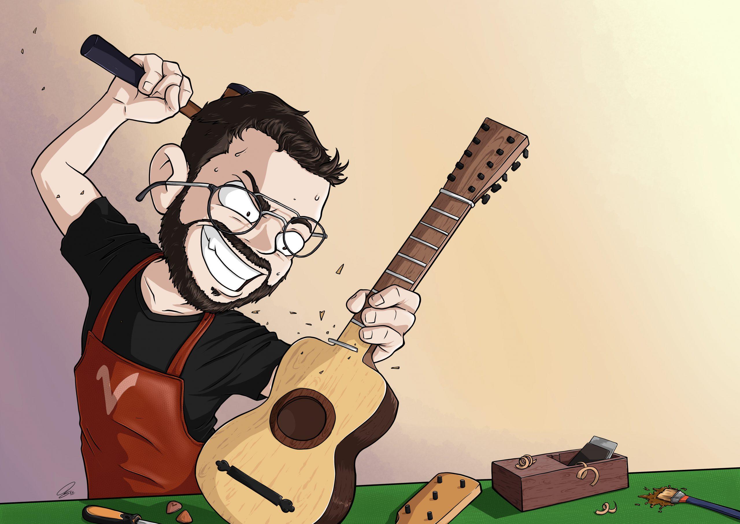 la cabaña del luthier